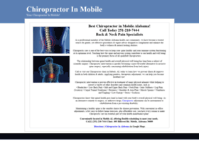 chiropractorinmobile.com