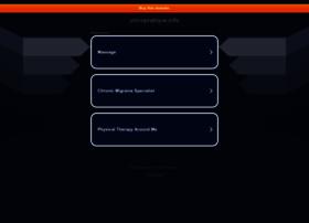 chiropratique.info
