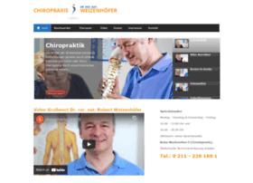chiropraxis-weizenhoefer.de
