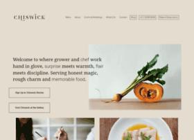 chiswickrestaurant.com.au