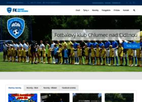 chlumecky-fotbal.com