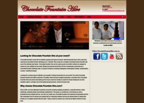 chocolatefountainhire.com