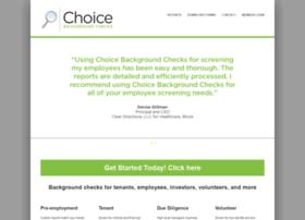 choicebackgroundchecks.com