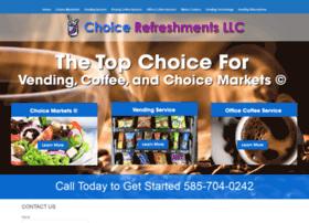 choicerefreshmentsllc.com
