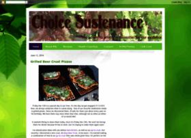 choicesustenance.blogspot.com