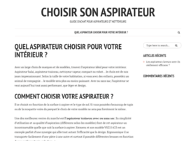 choisirsonaspirateur.info