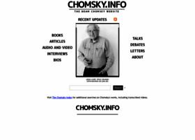 chomsky.info