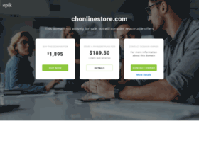 chonlinestore.com