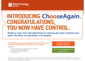 chooseagainenergy.com