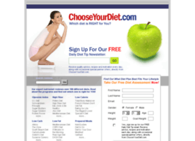 chooseyourdiet.com