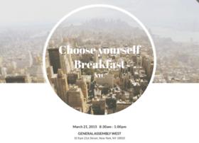 chooseyourselfbreakfast.splashthat.com