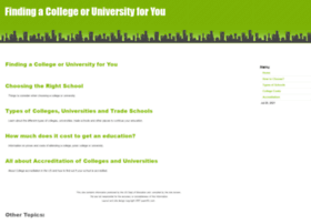 choosingcolleges.quantific.com