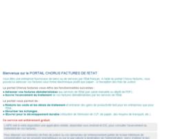 chorus-factures.budget.gouv.fr