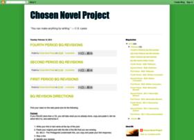 chosennovelproject.blogspot.nl