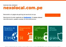 chota.nexolocal.com.pe