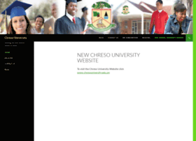 chresouniversity.org