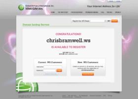 chrisbramwell.ws