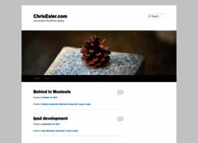 chrisesler.com
