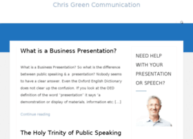 chrisgreencommunication.com