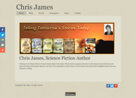 chrisjamesauthor.com