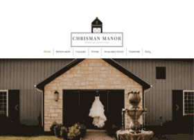 chrismanmanor.com