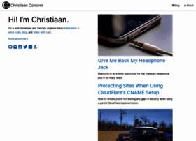 christiaanconover.com