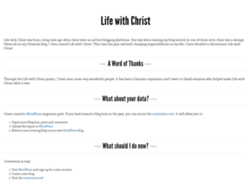 christianarchy.lifewithchrist.org