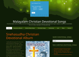 christiandevotionalsongs.in