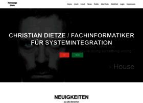 christiandietze.de