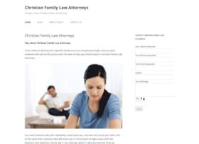 christianfamilylawattorneys.com