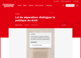 christianismeaujourdhui.info