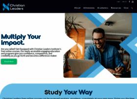 christianleadersinstitute.org