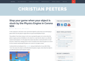 christianpeeters.com