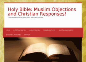christiansanswermuslims.org