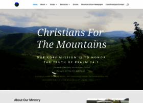 christiansforthemountains.org