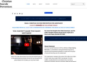 christiansuicideprevention.com