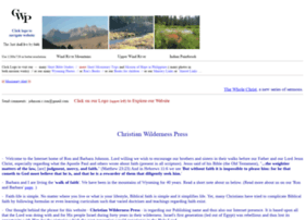 christianwildernesspress.net