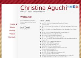 christinaaguchitour.com