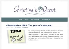 christinasquest.com