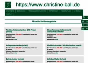 christine-ball.de