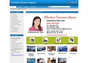 christineinsurance.com