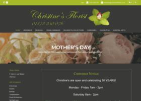 christinesflorist.co.uk