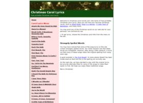 christmas-carol-words.com