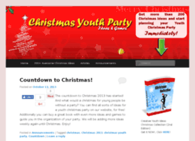 christmasyouthparty.com