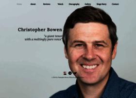 christopherbowentenor.com