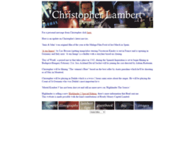 christopherlambert.org