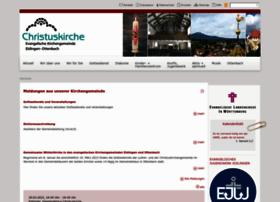 christuskirche-eislingen.de