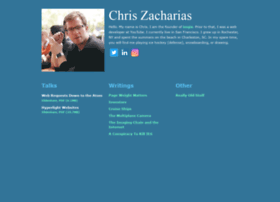 chriszacharias.com