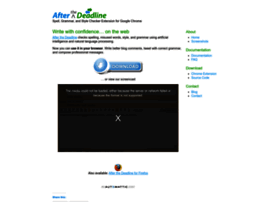 chrome.afterthedeadline.com