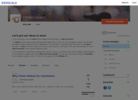 chronconnect.ideascale.com